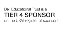 Bell Education Trust is a Tier 4 Sponsor on the UKVI register of sponsors