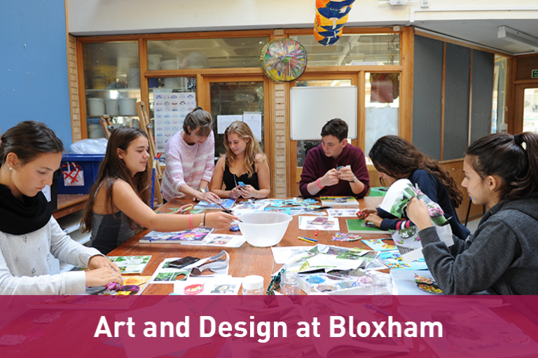 Art and Design academy at Bloxham School