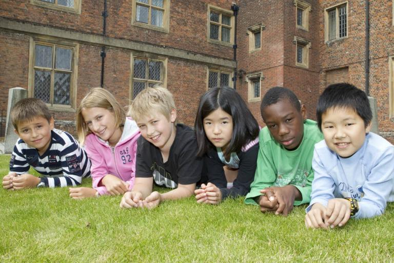 Bell juniors on a photoshoot