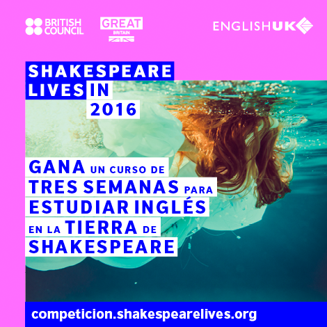 Shakespeare Lives. English UK and British Council.