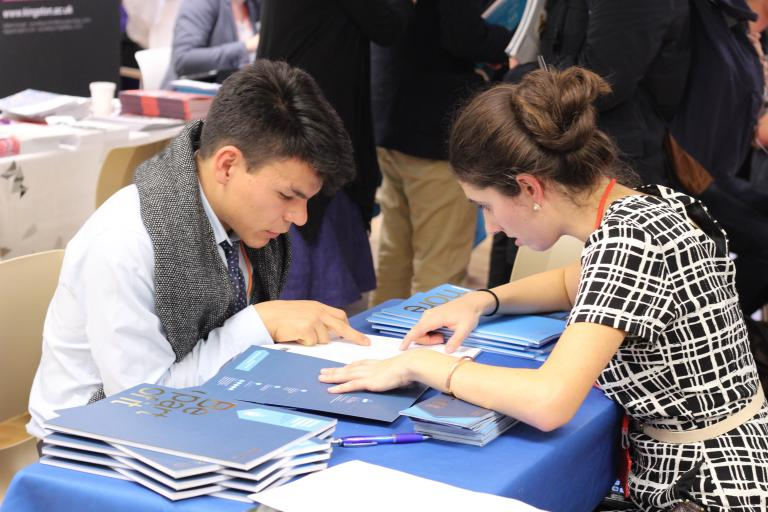 Bell University + You higher education fair 2015