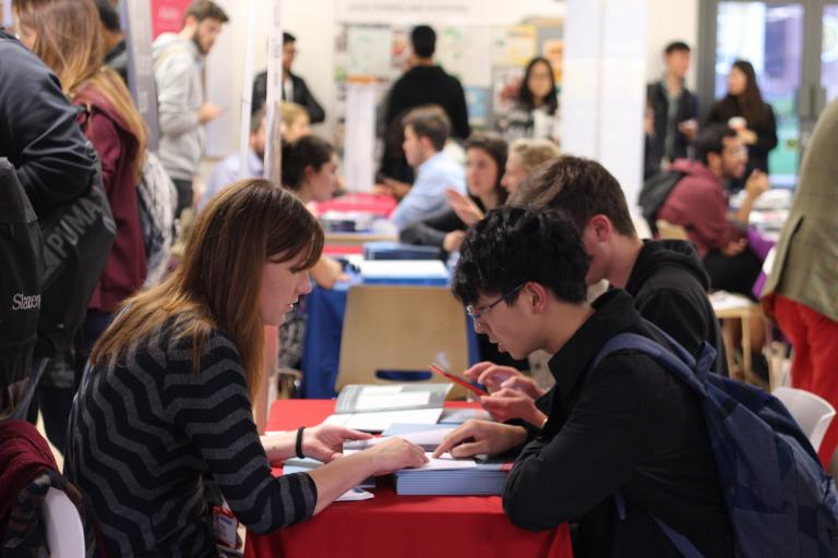 Bell's University + You higher education fair, 2015
