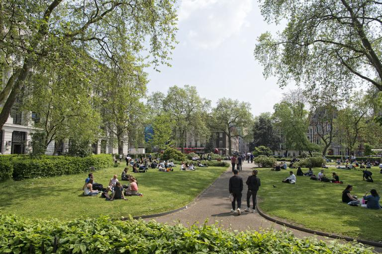 Bloomsbury Square Gardens