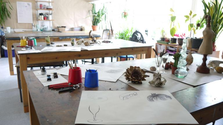 Art and Design elective at The Leys School, Cambridge