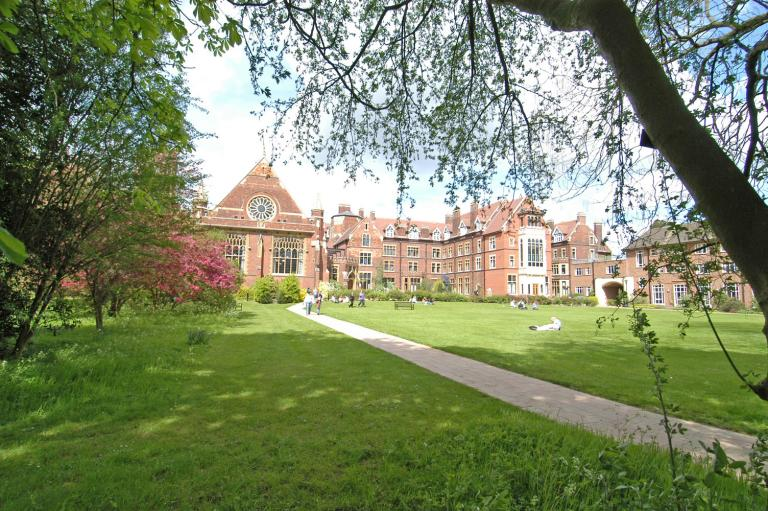 Queens Lawn, Homerton College
