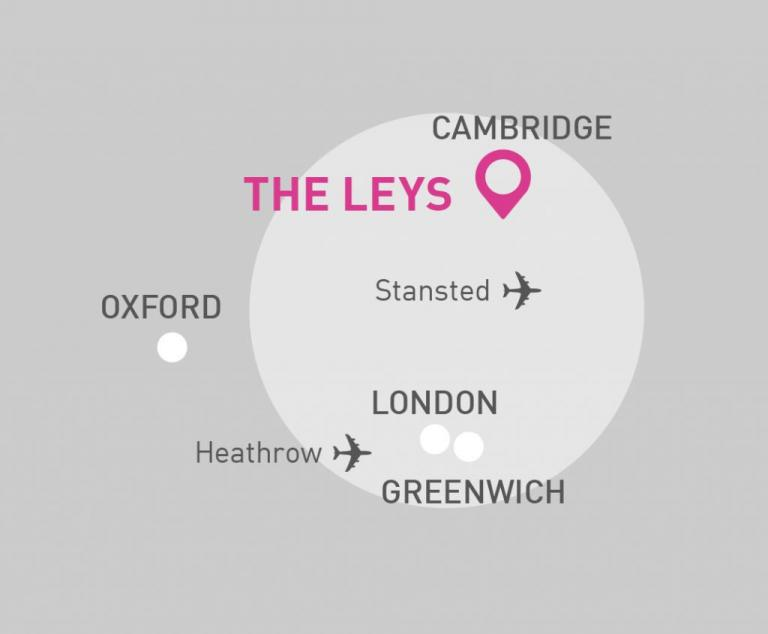The Leys map
