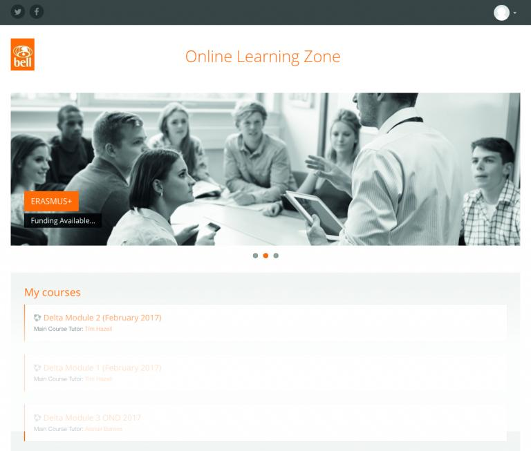 The new Delta online learning platform