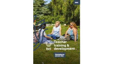 Teacher Training Brochure cover