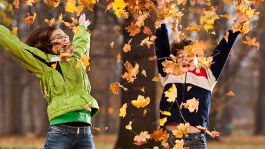 Students in Autumn