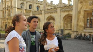 Young learners at Cambridge University