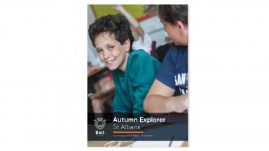 2019 Autumn Explorer leaflet